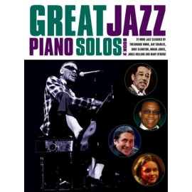 GREAT JAZZ PIANO SOLOS   AM989164