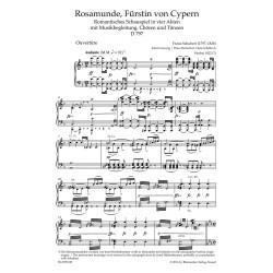 ROSAMUNDE, FURSTIN VON CYPERN / VOCAL SCORE