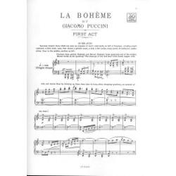 LA BOHEME / VOCAL SCORE
