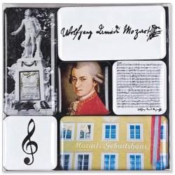 Zestaw magnesików, motyw Mozart