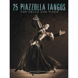 25 TANGOS FOR CELLO AND PIANO