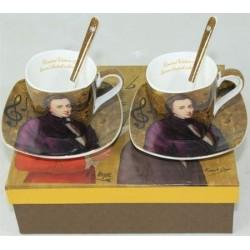 Filiżanka Chopin 2 szt - zestaw do espresso