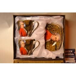 Filiżanka Mozart 2 szt - zestaw do espresso