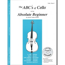 ABSOLUTE BEGINNER ABC13X, ABC's OF CELLO   VOL.1