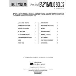 BANJO METHOD HL00699516, MORE EASY NAJO SOLOS