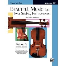 APPLEBAUM SAMUEL EL02227, Beautiful Music For Two
