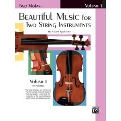 APPLEBAUM SAMUEL EL02200, Beautiful Music For Two