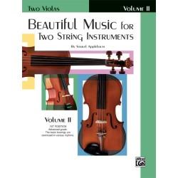 APPLEBAUM SAMUEL EL02212, Beautiful Music For Two