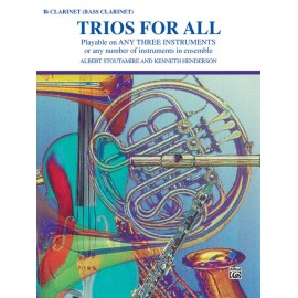 Trios for All / Clarinet/Bass Clarinet