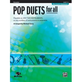 Pop duets for all / Percussion