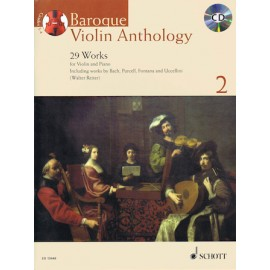 BAROQUE VIOLIN ANTHOLOGY ED 13448,