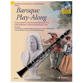 BAROQUE PLAY-ALONG ED13152, 12 WORKS FROM BAROQUE/