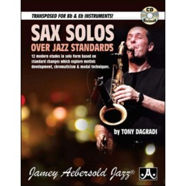 SAX SOLOS OVER JAZZ STANDARDS