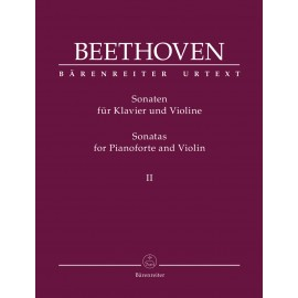 SONATAS FOR VIOLIN AND PIANO VOL.II