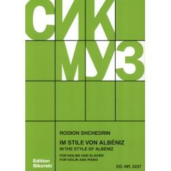 SHCHEDRIN,R.          SIK 2237