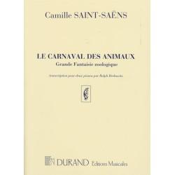 DES ANIMAUX LE CARNAVAL PIANO DUET