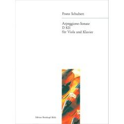 SONATA ARPEGGIONE A-MOLL for viola & piano