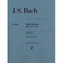 SIX PARTITAS BWV 825-830 / BEZ APLIKATURY