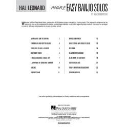 MORE EASY BANJO SOLOS              HL00699516
