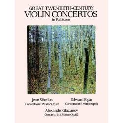 VIOLIN CONCERTOS / FULL SCORE