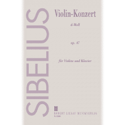 VIOLIN KONZERT D-MOLL OP.47 VIOLINE & KLAVIER