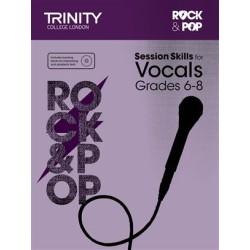ROCK & POP SESSION SKILLS FOR VOCALS TCL 014382