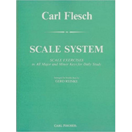 SCALE SYSTEM FOR DOUBLE BASS