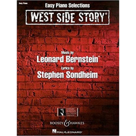 WEST SIDE STORY/ VOCAL SELECTFON / EASY PIANO