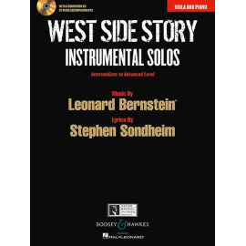WEST SIDE STORY/ VOCAL SELECTFOR VIOLA AND PIANO