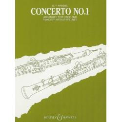 CONCERTO NO. 1 FOR OBOE & PIANO