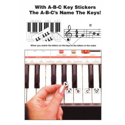 ABC KEYBOARD STICKERS      HL00001009