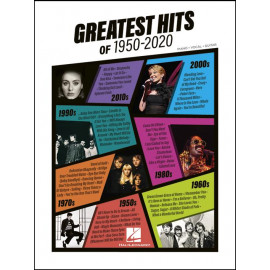 GREATEST HITS OF 1950-2020      HL00323325