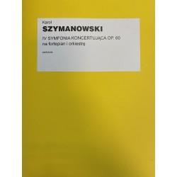 IV SYMFONIA KONCERTUJĄCA /PART./ - DZIEŁA T.4