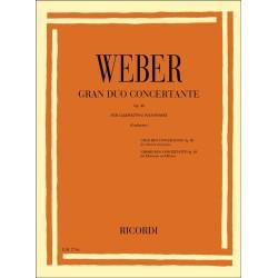 GRAN DUO CONCERTANTE OP.48/ CLARINET & PIANO