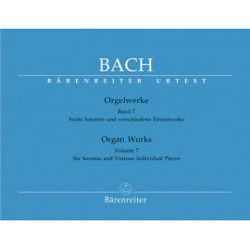 BACH J.S..  BA5177, ORGELWERKE VII