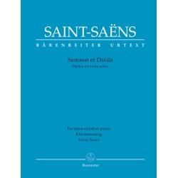 SAMSON ET DALIILA / VOCAL SCORE