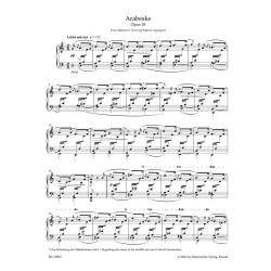 ARABESKE  OP.18  FOR PIANO