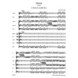 GLORIA RV 589/ PARTYTURA