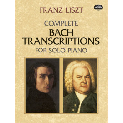 TRANSRIPTIONS FOR SOLO PIANO / F.LISZT