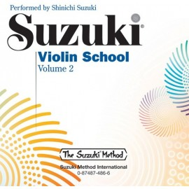 SUZUKI / VIOLIN SCHOOL / 0486, CD DO ZESZYTÓW SKRZ