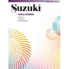 SUZUKI VIOLA SCHOOL / 0491S, VIOLA PART / VOL.6