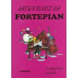 BISKUPSKA M., ŁATWY BLUES NA FORTEP.