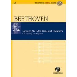 CONCERTO NO.5 FOR PIANO & ORCH ES-DUR OP.73