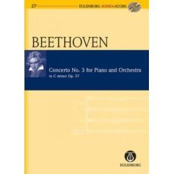 CONCERTO NO.3 FOR PIANO & ORCH C-MOLL OP.37