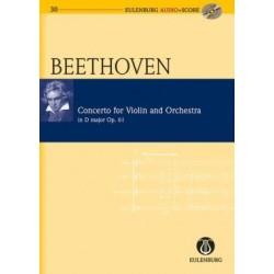 CONCERTO FOR VIOLIN & ORCHESTR D-DUR OP.61