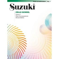 SUZUKI / CELLO SCHOOL / 0362S, PIANO ACCOMPANIMENT