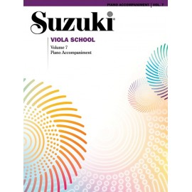 SUZUKI VIOLA SCHOOL / 0494, PIANO ACCOMPANIMENT VO