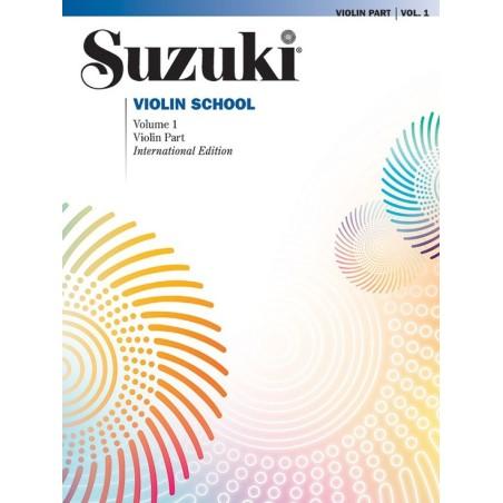 SUZUKI VIOLIN SCHOOL, VIOLIN PART VOL. 1