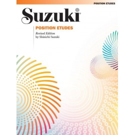 SUZUKI / VIOLIN SCHOOL / 0096S, POSITION ETUDES /