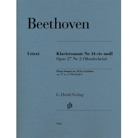 KLAVIERSONATE CIS-MOLL NR 14 OP.27 / MOONLIGHT